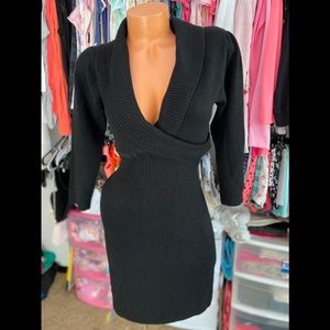 Black Sweater Dress Size S
